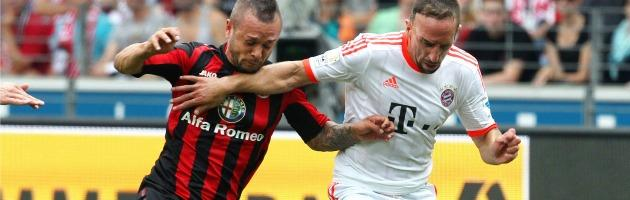 Alfa Romeo sponsor dell'Eintracht: soldi nel calcio per far gola ai tedeschi