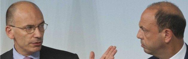 """Decadenza Berlusconi, vertice Letta-Alfano: """"Posizioni distanti"""""""