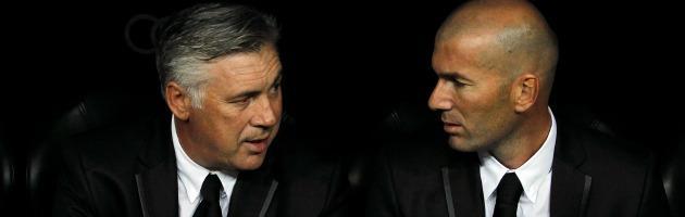 Male Di Canio, bene Ancelotti e Ranieri: luci e ombre per i tecnici italiani all'estero