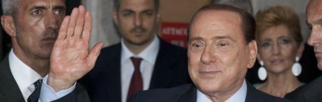 """Berlusconi: """"Mi vanno bene anche i servizi sociali, ma non la decadenza"""""""
