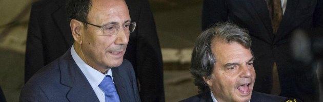 Renato Brunetta e Renato Schifani