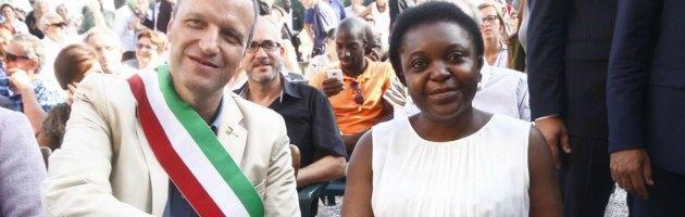 Cecile Kyenge e Flavio Tosi