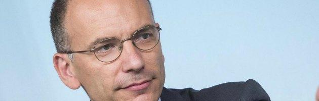 """Letta: """"In Italia troppo conservatorismo, dobbiamo cambiare la costituzione"""""""