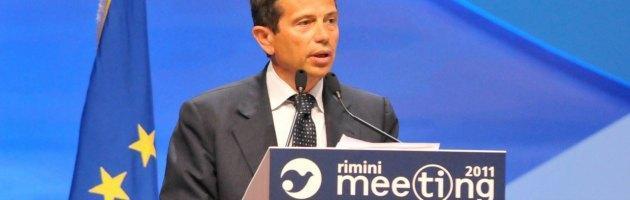 """Rimini, il meeting di Cl celebra le larghe intese. Lupi nuovo """"cerimoniere"""""""