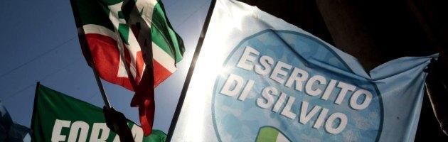 """Condanna Berlusconi, Pdl in piazza senza ministri. Biancofiore: """"Ma io vado"""""""