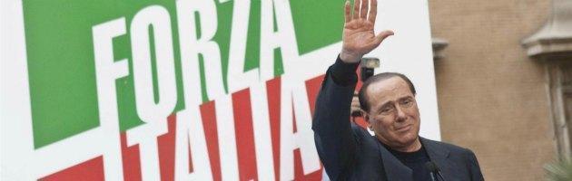Silvio Berlusconi commosso
