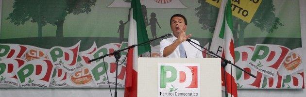 """Pd, Renzi in Emilia: tour nella """"regione rossa"""" per conquistare il partito"""
