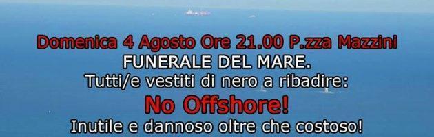 """Toscana, comitato contro rigassificatore in mare. """"Celebriamo funerale"""""""