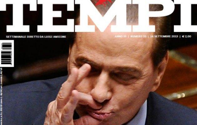 """Berlusconi: """"Se mi buttano a mare e la barca sbanda non è colpa mia"""""""
