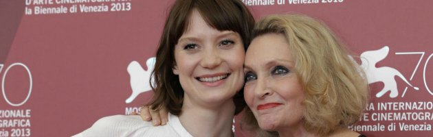 Robyn Davidson e Mia Wasikowska - Venezia 213