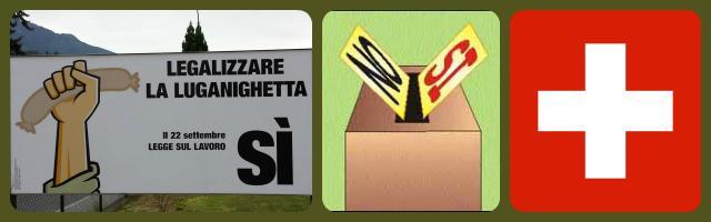 Referendum Luganighetta Svizzera