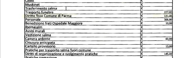 """Tasse, anche morire costa: """"A Parma, per ogni famiglia 131 euro. A Piacenza 134"""""""