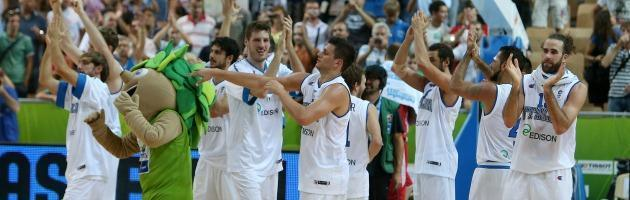 Europei basket 2013, incredibile Italia: Grecia ko e seconda fase conquistata
