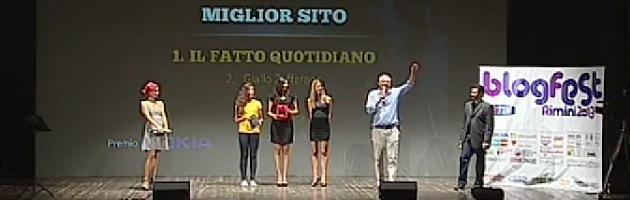 Macchianera Awards, ilfattoquotidiano.it premiato come miglior sito italiano 2013