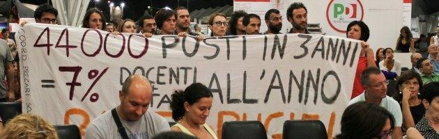 """Scuola, i precari contro il ministro Carrozza: """"Basta bugie"""""""