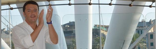 Festa Pd: ovazioni e applausi. Matteo Renzi conquista Genova
