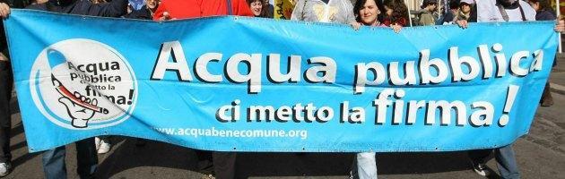 Ue, quasi 2 milioni di europei vogliono l'acqua pubblica (e potabile) per tutti