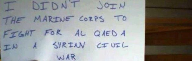 """Siria, soldati Usa contro l'attacco: """"Obama, non combatto per Al Qaeda"""""""