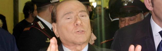 Silvio Berlusconi al Processo Mediaset