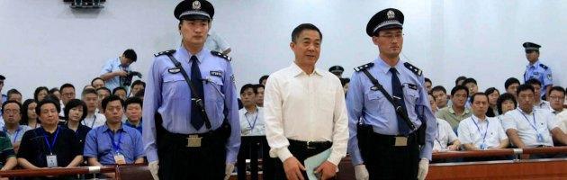 """Cina, Bo Xilai condannato all'ergastolo. """"Ha preso tangenti per 3 milioni di dollari"""""""