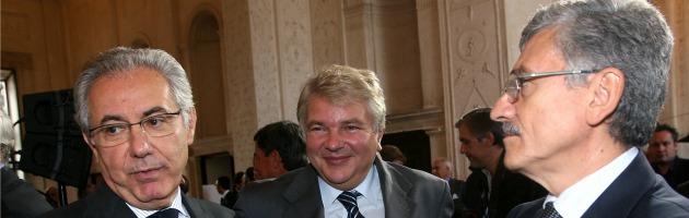Roberto Colaninno e Massimo D'Alema