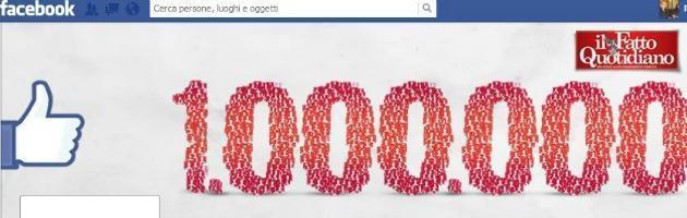 Il Fatto Quotidiano raggiunge su Facebook un milione di fan. Storia di un successo