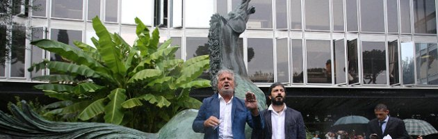 Grillo in Rai