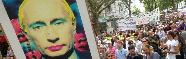 Leggi anti-gay russe, manifestazioni in tutto il mondo in vista del G20