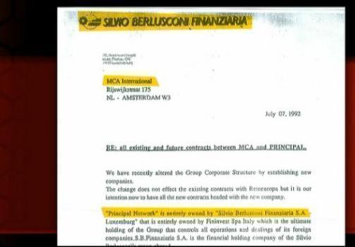 Servizio Pubblico, il gruppo Berlusconi e Frank Agrama
