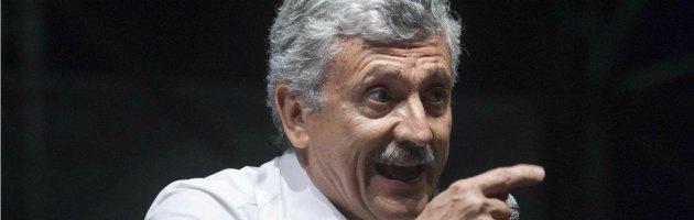 """Pd, D'Alema: """"Letta sosterrà Renzi perché non può permettersi di perdere congresso"""""""