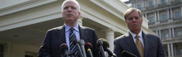 """Guerra Siria, Obama convince i """"falchi"""" repubblicani. Resistenze dei militari Usa"""
