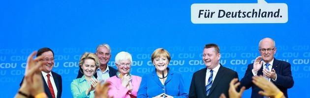 Elezioni Germania 2013: Cdu al 41,5%, Spd al 25,7%. Fallimento Fdp