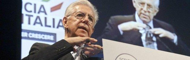 """Scelta Civica, Monti si dimette da presidente: """"Undici senatori contro di me"""""""