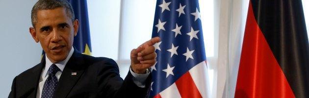 """Guerra in Siria, Obama: """"Atto chimico barbarie. Non ripeteremo errori Iraq"""""""