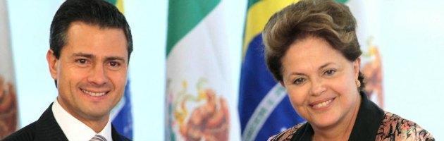 """Datagate, Snowden: """"Telefonate di Rousseff e Peña Nieto spiati da Nsa"""""""