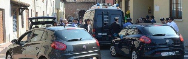 Ris dei carabinieri di Parma a Gambara