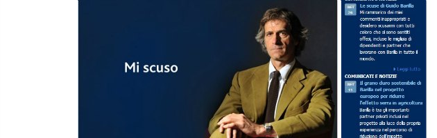 """Guido Barilla chiede scusa anche ai dipendenti: """"Rispetto tutti"""""""