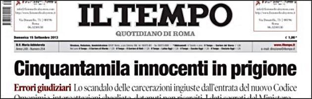 """Chiocci nuovo direttore de Il Tempo: """"Non saremo la fotocopia di Libero e Il Giornale"""""""