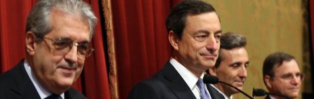 Banche in difficoltà, Draghi contro l'applicazione del metodo Cipro