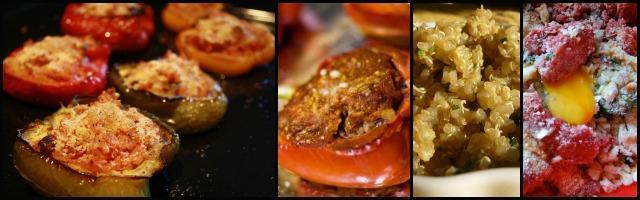 Peperoni ripieni: salsiccia o quinoa?