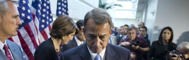 """Usa, fallisce mediazione alla Camera: """"E' suicidio politico dei repubblicani"""""""