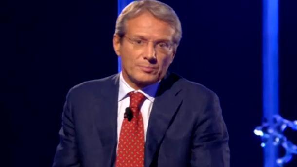 """Servizio Pubblico, Dragoni: """"Forza Mediaset"""""""