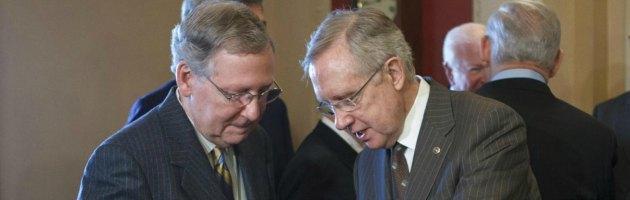 """Usa, le trattative passano al Senato. Giovedì sarà """"catastrofe default"""""""