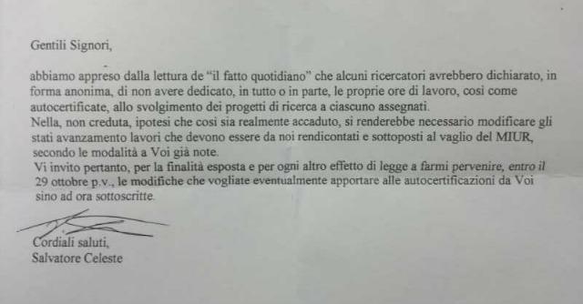 Catania, scontro tra laboratorio e sindacati per i ricercatori pagati senza lavorare