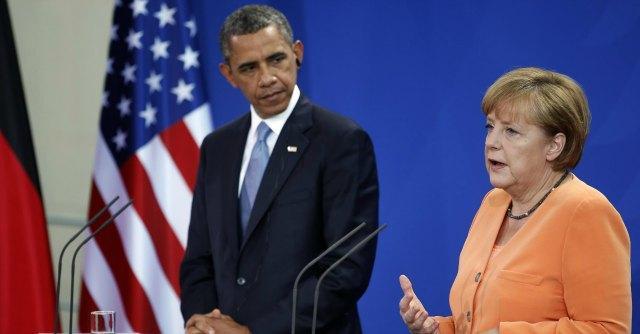 Barack Obama e Angela Merkel