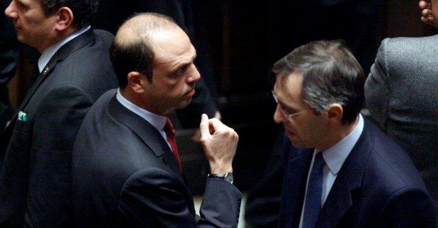 Angelino Alfano e Niccolò Ghedini