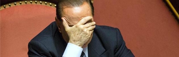 """Berlusconi: """"Decadenza? Otterrò la revisione del processo da Corte europea"""""""