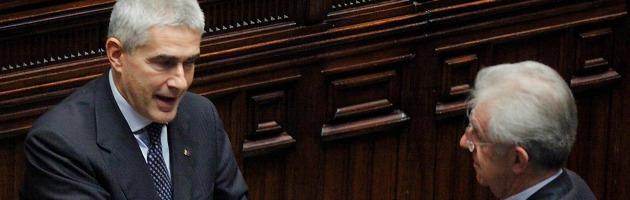 """Scelta Civica, Casini: """"Ridicole le accuse di Monti nei miei confronti"""""""
