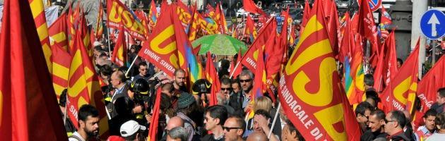 Manifestazione USB Roma