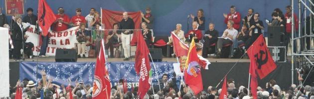 """Costituzione, in migliaia a Roma. Rodotà: """"Da Letta terrorismo ideologico"""""""